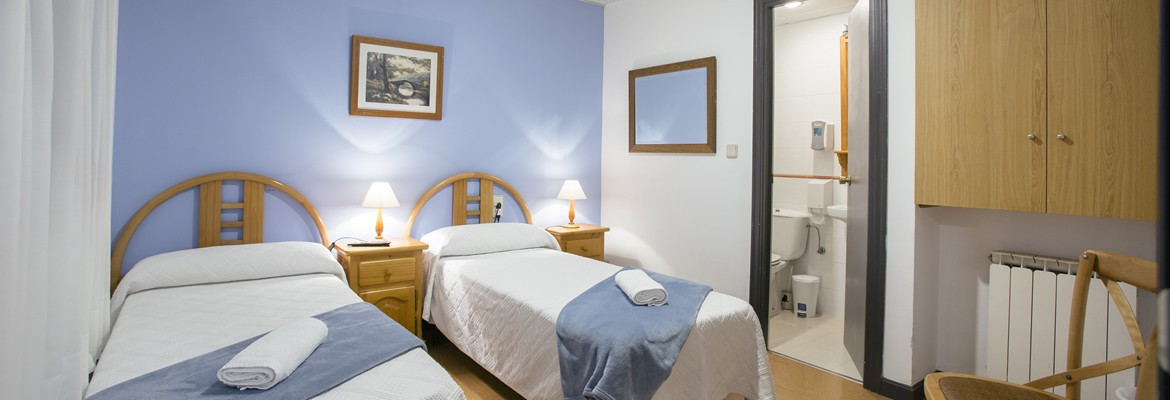 Double rooms with en-suite bathroom in Donostia's old town