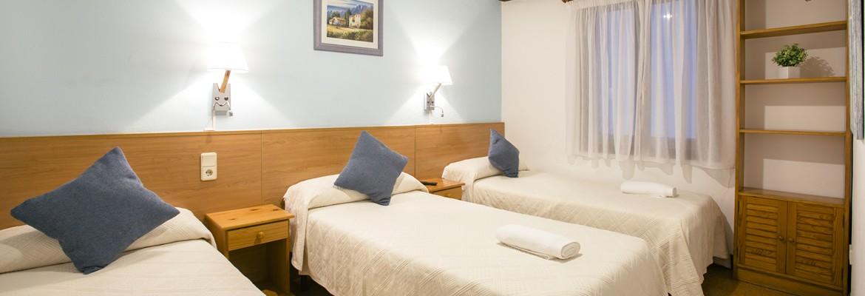 Reservar habitaciones triples en la parte vieja de Donostia - San Sebastián